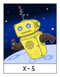 AlphaBots Week XXIV: X is for X-5 by SamWolk