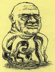 Cephalopod Head Guy Thing by SamWolk