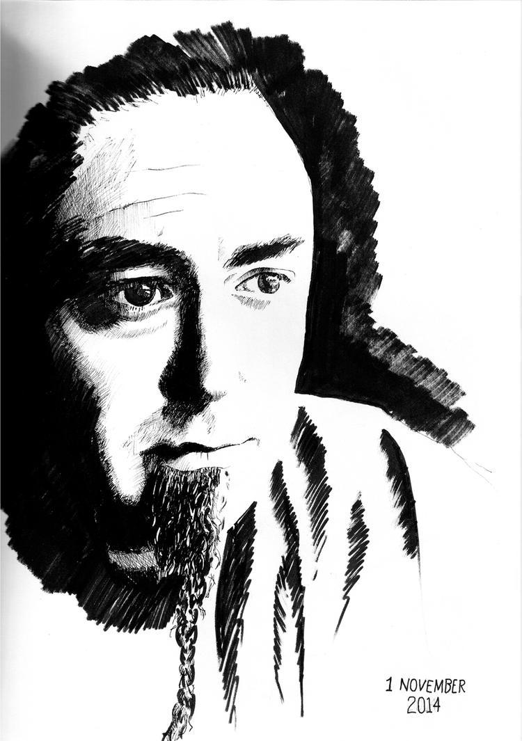 Self-Portrait by SamWolk