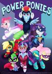 PowerPonies Poster by Katrittaja