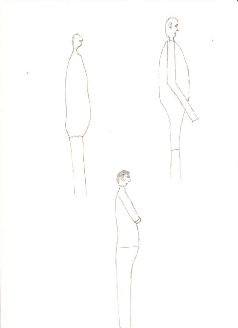 Figure Side View Pratice 02 by Belios