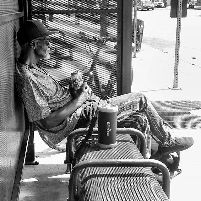 Old Man Waiting by aroybal1996