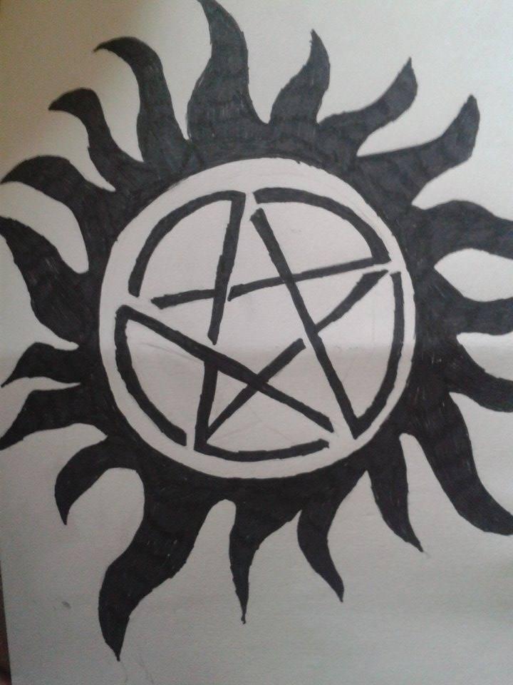 Supernatural Anti Possession Symbol By Notthegingeraverage On Deviantart