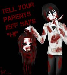 Jeff VS Jane by XJessTheKillerX