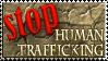 Stop Human Trafficking Stamp by EligoDesign