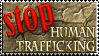 Stop Human Trafficking Stamp by EligoDesign