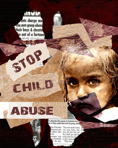 Stop Child Abuse WP by EligoDesign