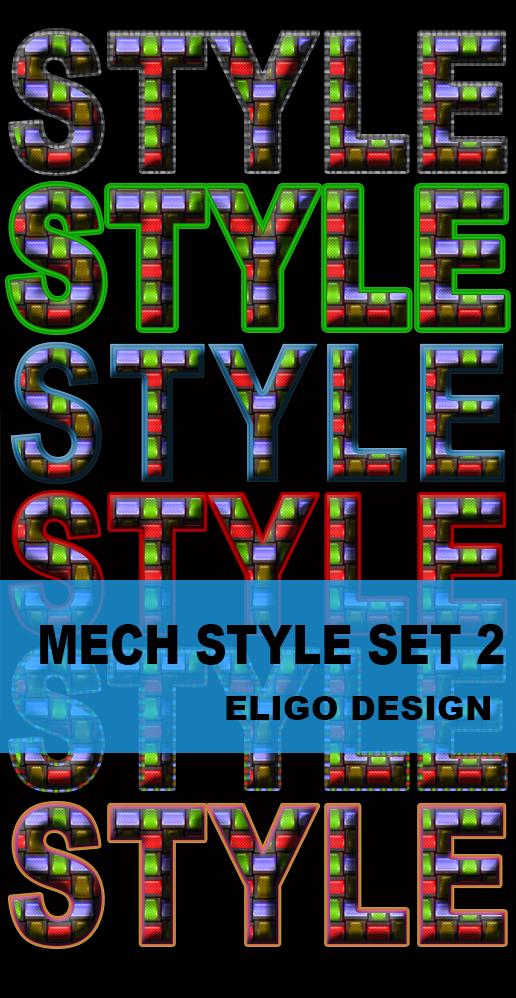 Premium Mech Style Set 2 By Eligodesign by EligoDesign