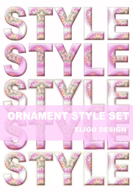 Ornament Premium Style Set By Eligodesign by EligoDesign