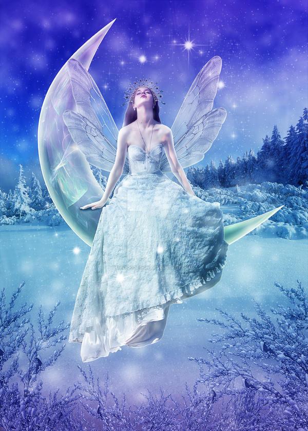 Winter Fairy by EligoDesign