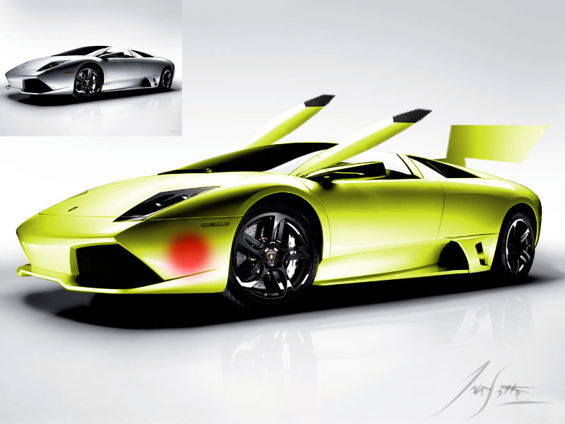 Pikachu Lamborghini Mercielago By Master09 On DeviantArt