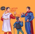Shazam! w/ Superman Doodles #16