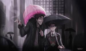 The Umbrella Academy : Klaus w/ Number 5
