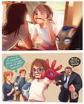 Morgan Stark : Like Father,Like Daughter