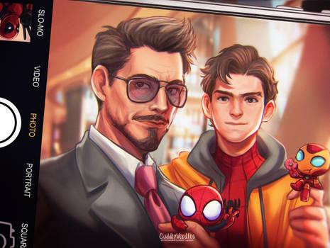 Tony Stark w/ Peter Parker