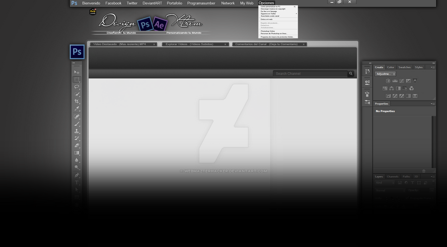 how to change rotation of background on photoshop cs6