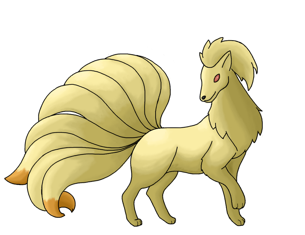 Generation 1 reloaded Collab: Ninetales V1 by Emi-Xstitch