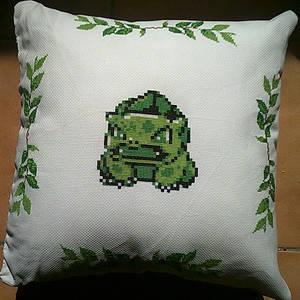 001 - Bulbasaur Pillow V2