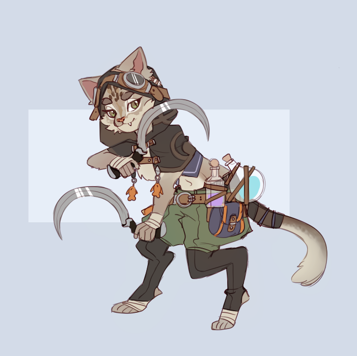 Tabaxi Rogue By Graciedart On Deviantart When not adventuring, tabaxi become skilled workers and salespeople. tabaxi rogue by graciedart on deviantart