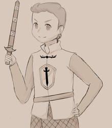 Ser Greyson of Castle Redmont by Knight-BIshop