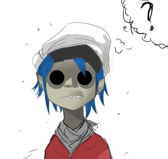 2D by ZombieGorillaz