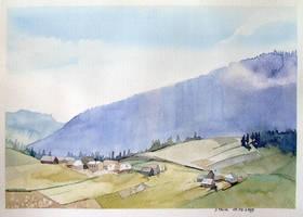 Gorskie widoki2 by Akwarela