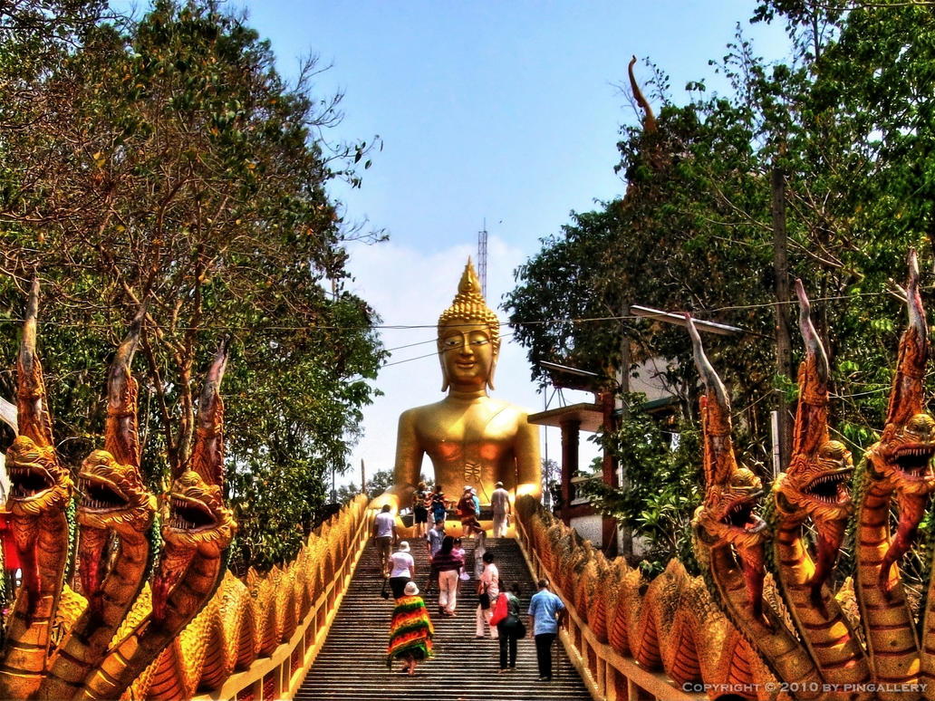 Big Buddha in Pattaya by pingallery on DeviantArt