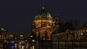Berlin Cathedral by Night
