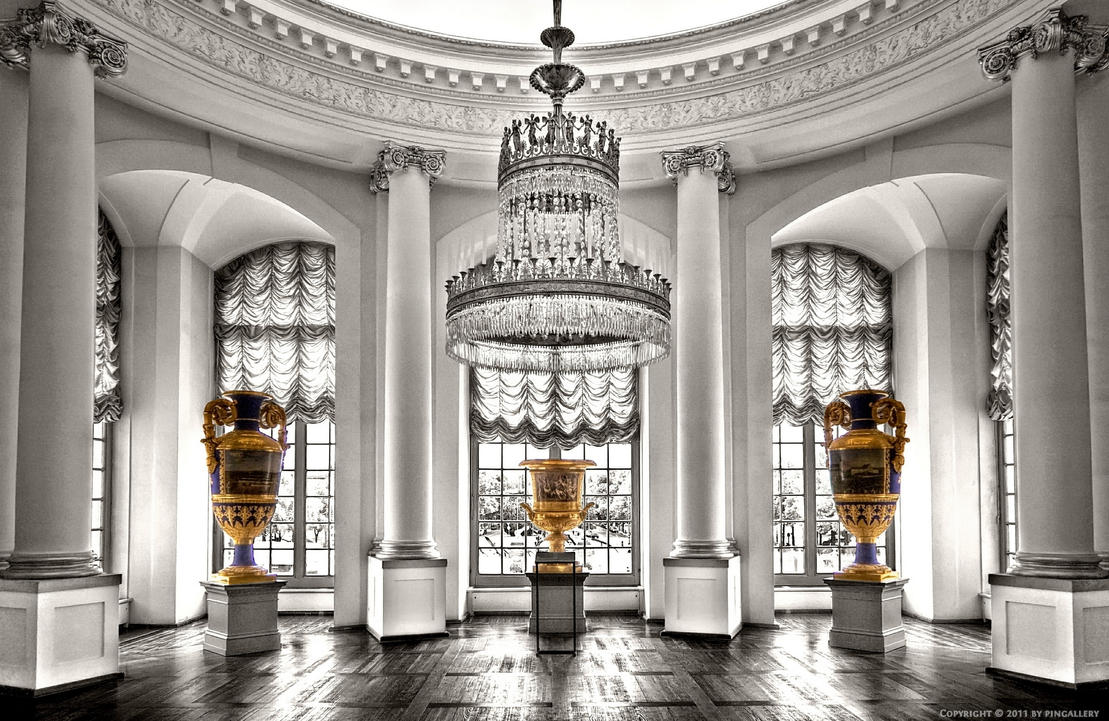 Castle Charlottenburg Interior By Pingallery On Deviantart