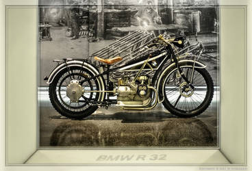 BMW R 32 Motorcycle by pingallery