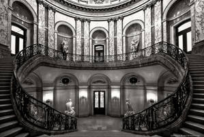 Staircase in the Bode Museum by pingallery
