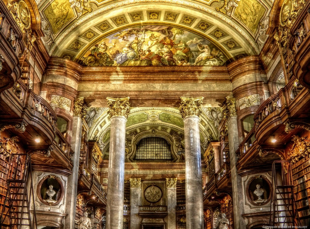 Austrian National Library - 15 Of The World's Greatest Libraries
