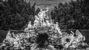 Neptune Fountain in Vienna