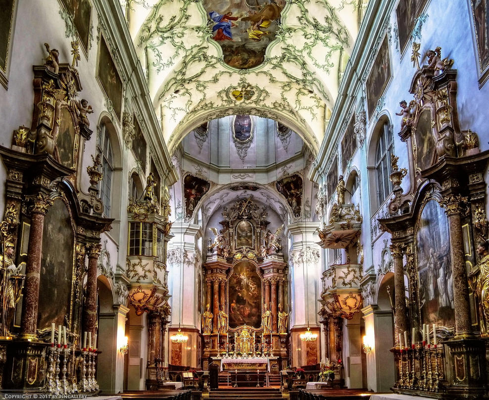 Salzburg - Stift Sankt Peter by pingallery