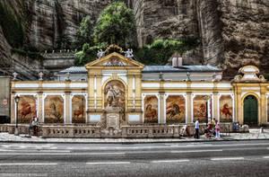 Salzburg - Karajan Platz by pingallery