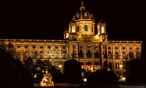 Museum of Art History at Night