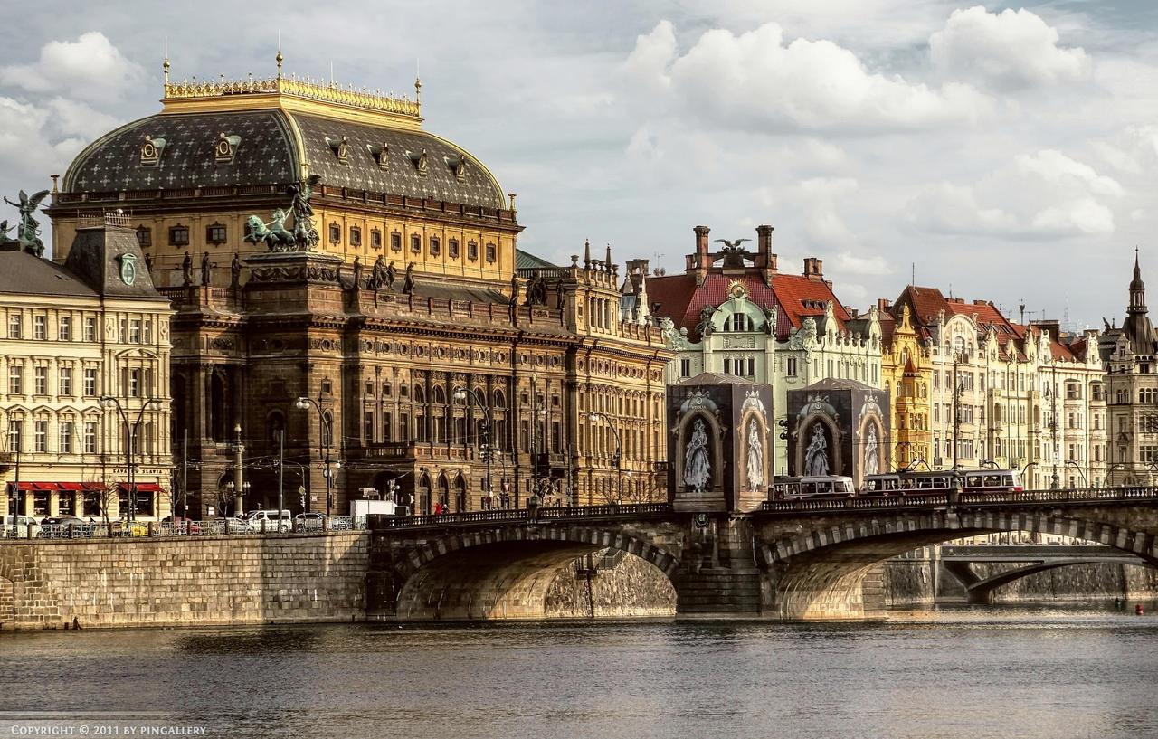Prag - Narodni Divadlo by pingallery