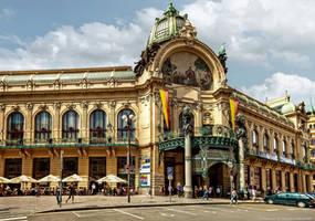 Prag - Obecni Dum by pingallery
