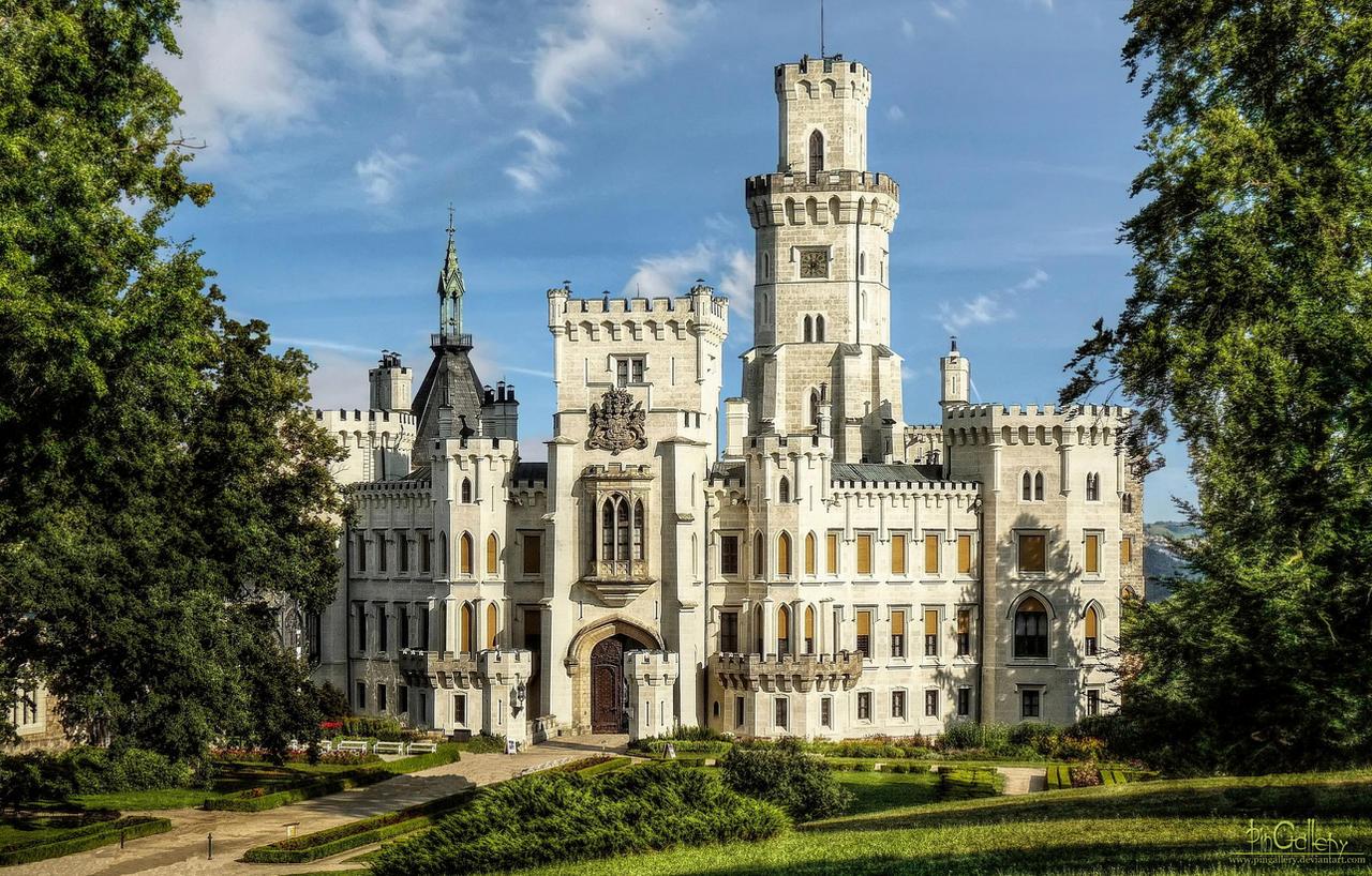 nad vltavou castle - photo #1