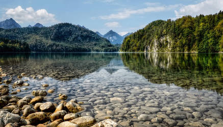 Alpsee by pingallery