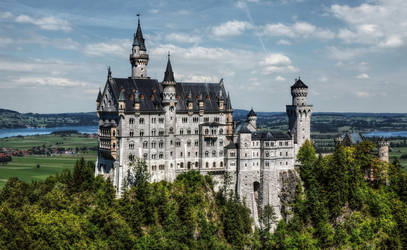 Castle Neuschwanstein I by pingallery