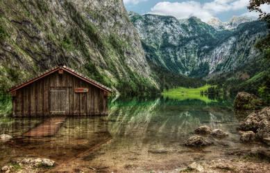 Koenigssee - Bavaria II by pingallery