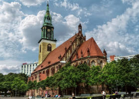 Berlin - St. Marys Church by pingallery