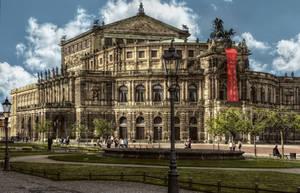 Semper Opera in Dresden by pingallery