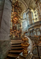 Interior view of the Frauenkirche II by pingallery