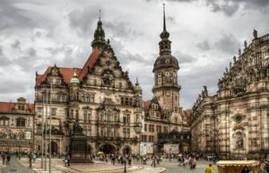 Georgenbau in Dresden by pingallery