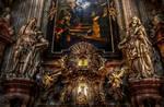 Prague - Interior of Church of St Nicholas II