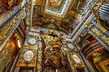 Eosander chapel at Charlottenburg Palace I by pingallery