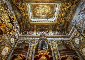 Eosander chapel at Charlottenburg Palace II by pingallery