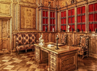 Berlin - Castle Charlottenburg Interior I by pingallery